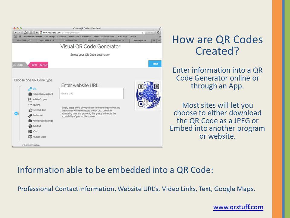 Presentation by : Rachel Nolan QR codes in the Classroom