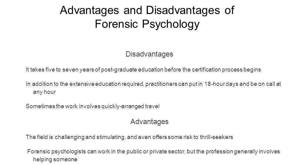 Forensic Psychologist 11/9/15 Nina Macagnone. Job Description My ...