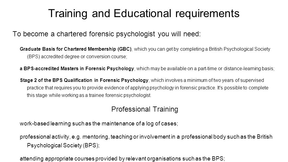 Forensic Psychologist 11 9 15 Nina Macagnone Job Description My Work As A Forensic Psychologist Is Mainly Relate To The Assessment And Treatment Of Criminal Ppt Download