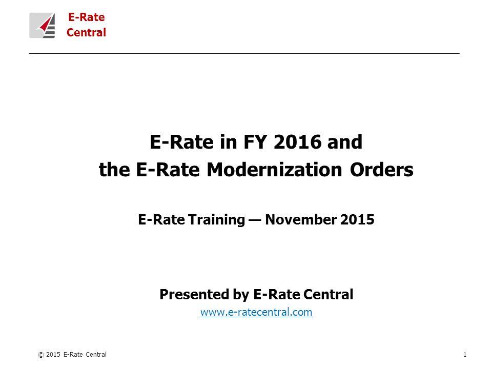 1 E Rate