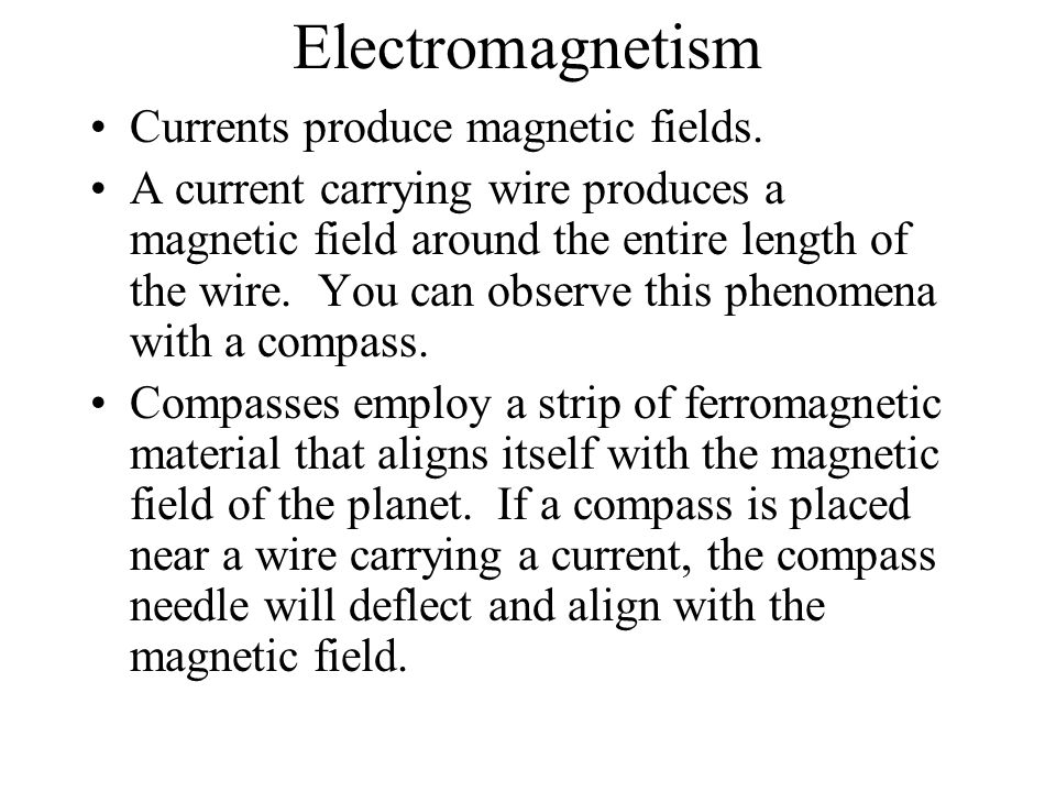 Magnetism Magnetic Poles: A magnet is a material that creates a ...