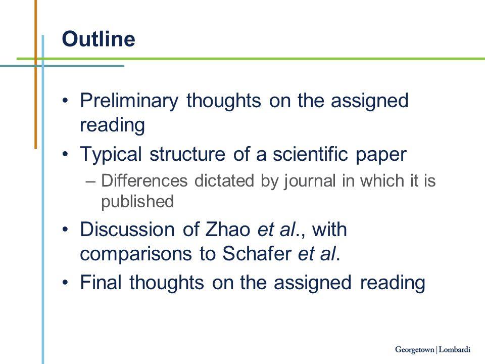 How to present a scientific paper Dr  Rebecca B  Riggins
