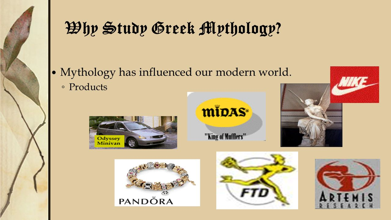 how has greek mythology influenced modern world
