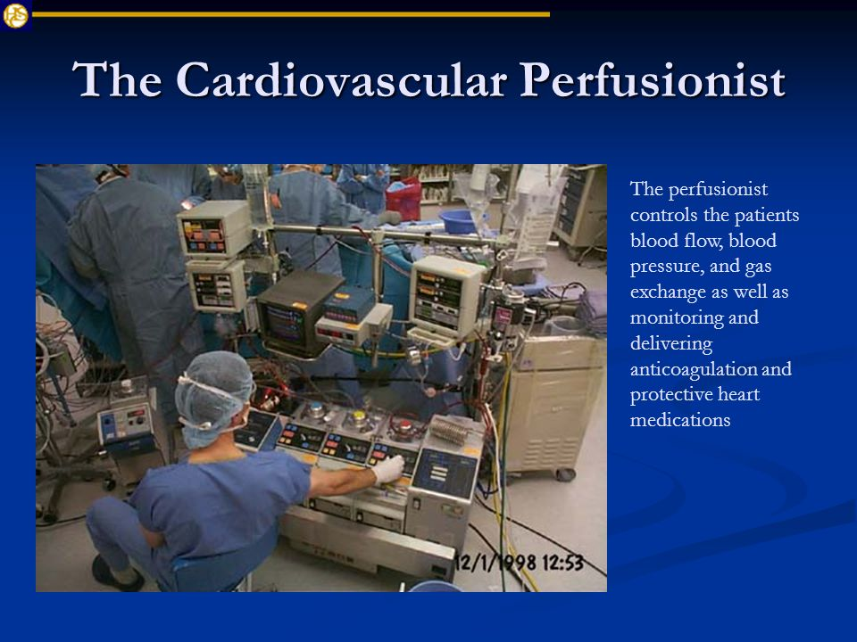 Pediatric Perfusion Gerald Mikesell Ccp Childrens National Medical