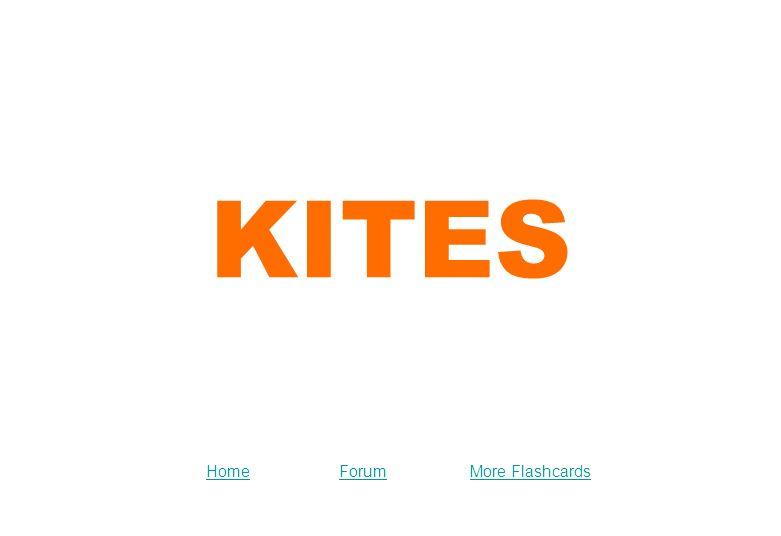KITES ForumMore FlashcardsHome  Types of Kites Kite Festival
