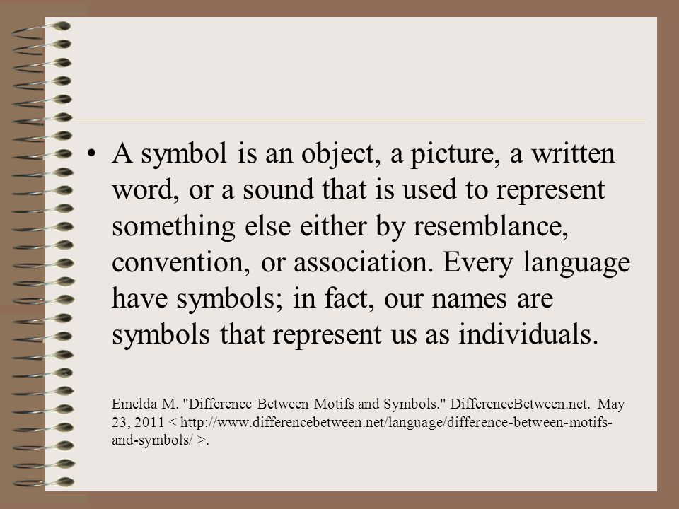 Symbols And Motifs How To Identify Symbols And Motifs In Literature