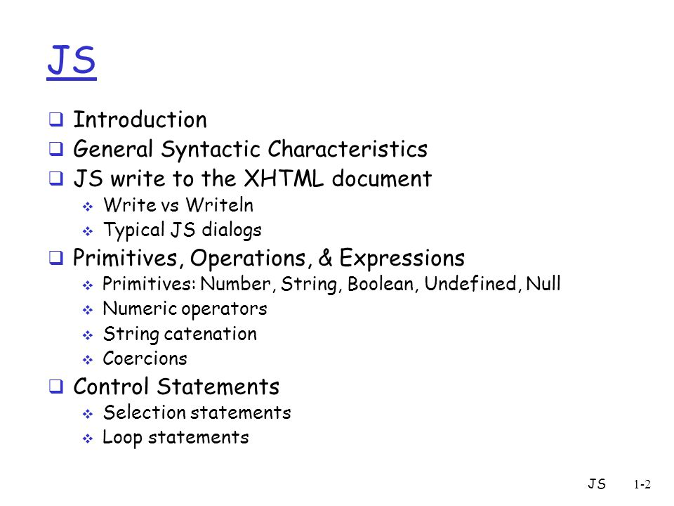 how to write html code in javascript