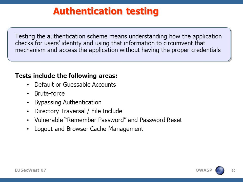 Copyright © The OWASP Foundation Permission is granted to