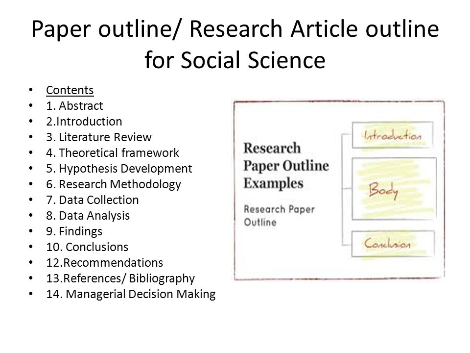 social science research papers