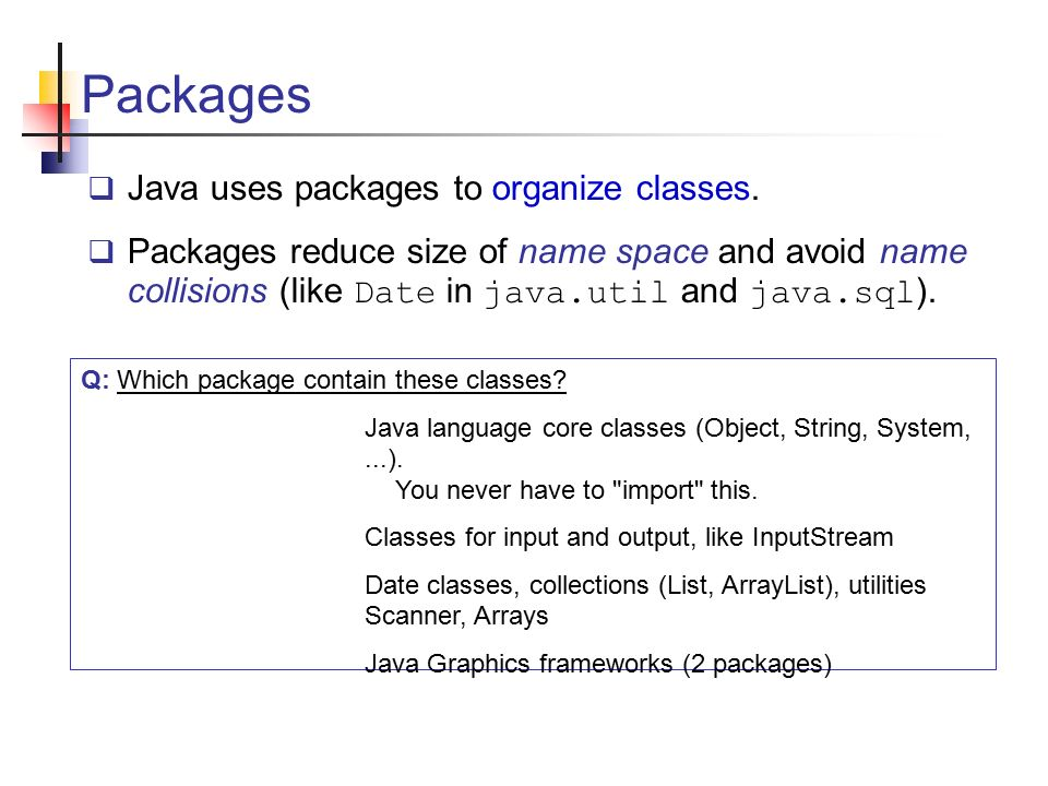 Review and Java Questions 13 June Classes, objects