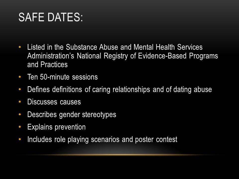 dating abuse scenarios