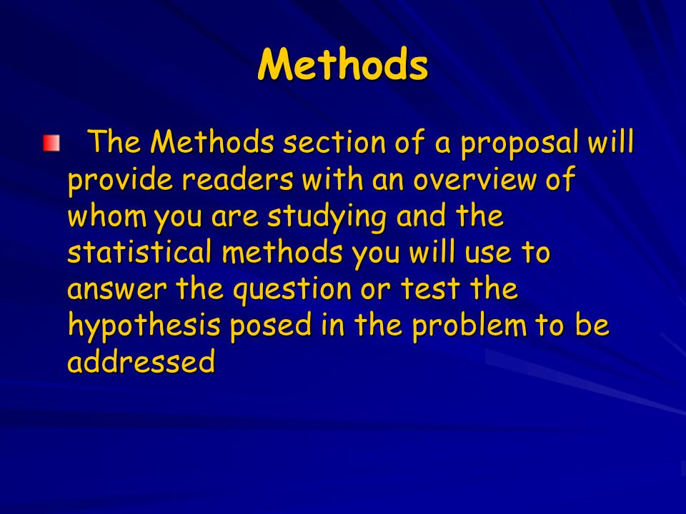 Example Of Essay Writing In English  Methods  Proposal Example Essay also Essay Papers Masters Essay In Epidemiology I P Methods Luisa N Borrell Dds  Essay Writing On Newspaper