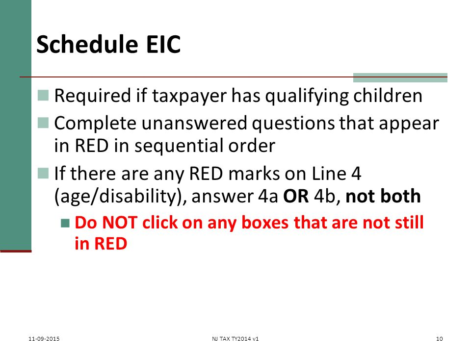 Earned Ine Credit Eic Pub 4012 Tab I 17 Chapter 36 Federal. 10 Schedule Eic Required If Taxpayer Has Qualifying Children Plete Unanswered Questions. Worksheet. Eic Worksheet Questions At Clickcart.co