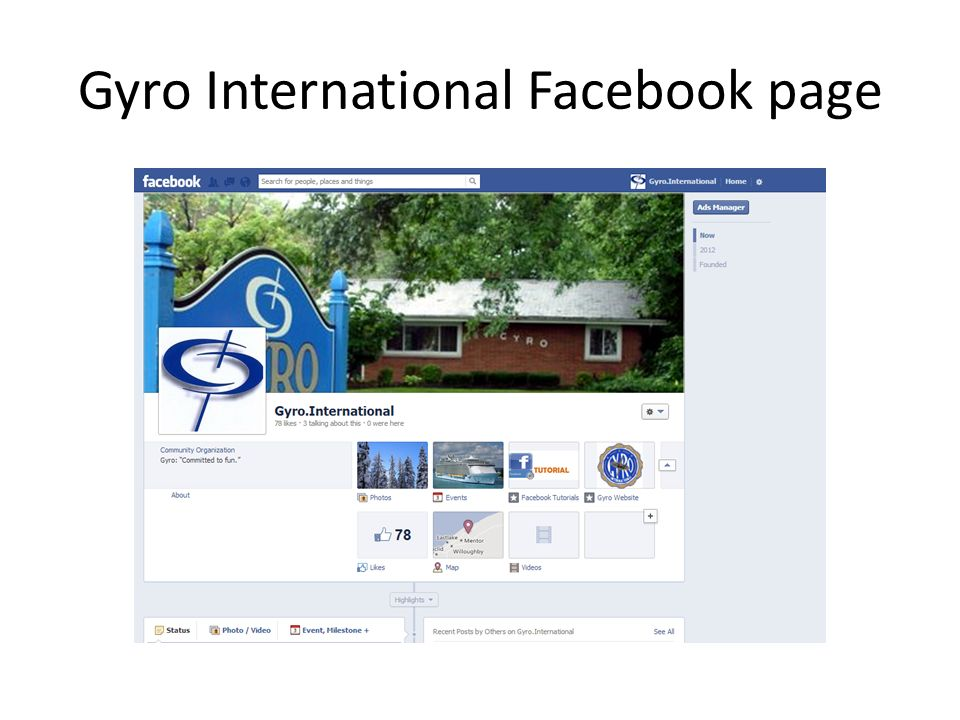 Social Media and Gyro  The Evolution of (Long Distance