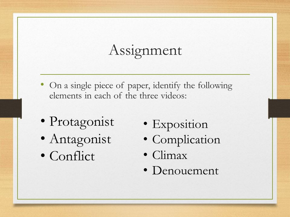 Literature Terms Elements Of Plot The Particular Arrangement. Identify The Following Elements In Each Of Three Videos Exposition Plication Climax Denouement Protagonist Antagonist Conflict. Worksheet. Protagonist And Antagonist Worksheet At Mspartners.co