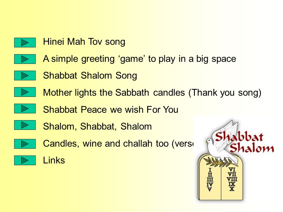 Hinei Mah Tov Song A Simple Greeting Game To Play In A Big Space
