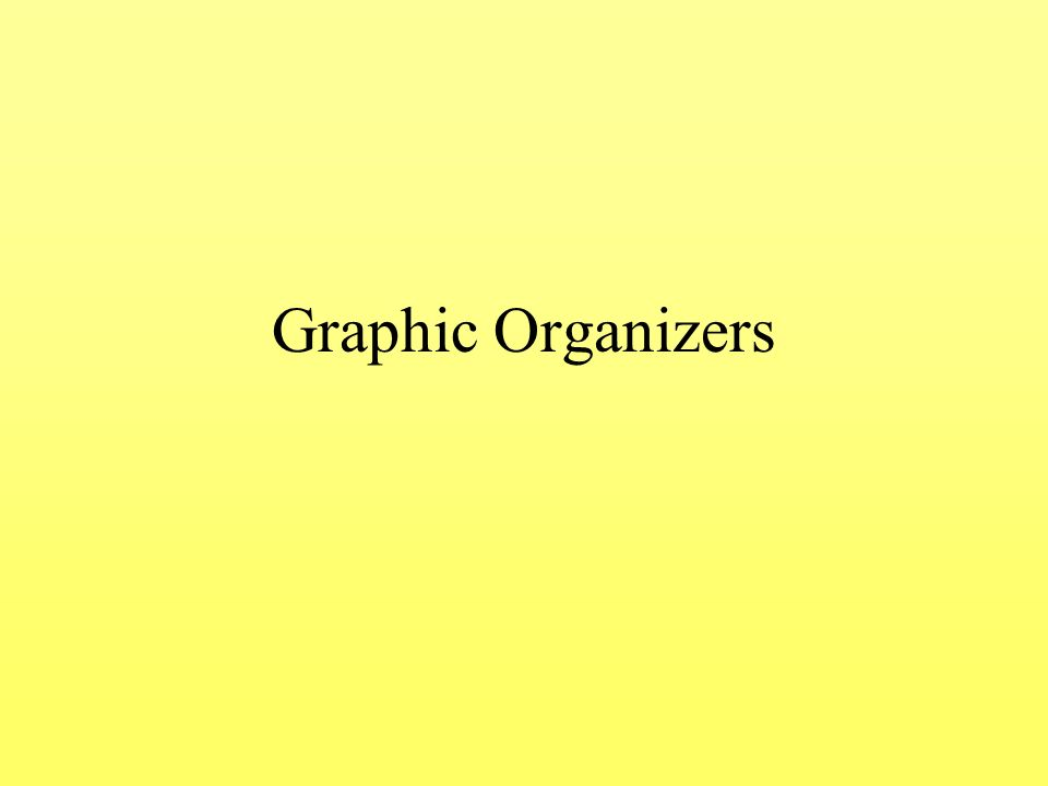 Graphic Organizers Graphic Organizers Venn Diagram Different Same