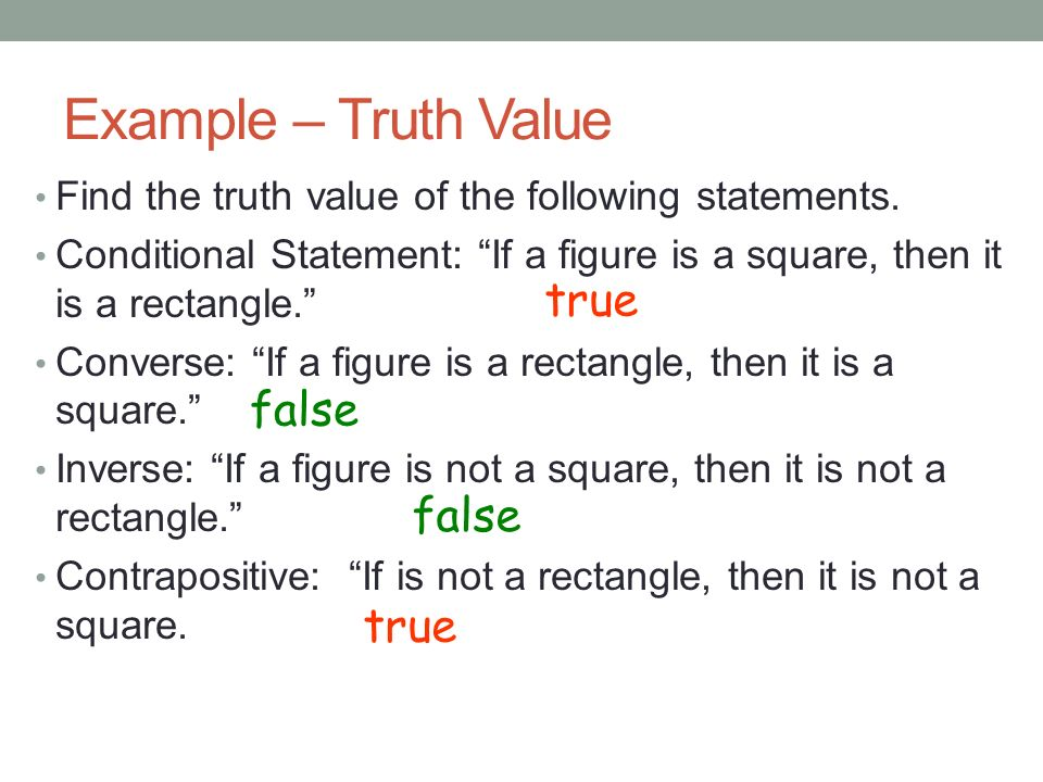 69a8d7ba749d 2.3 CONDITIONAL STATEMENTS Geometry R H. A Conditional statement is ...