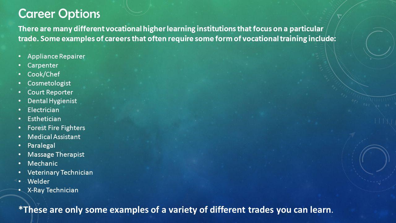 vocational school a vocational school also called a trade school