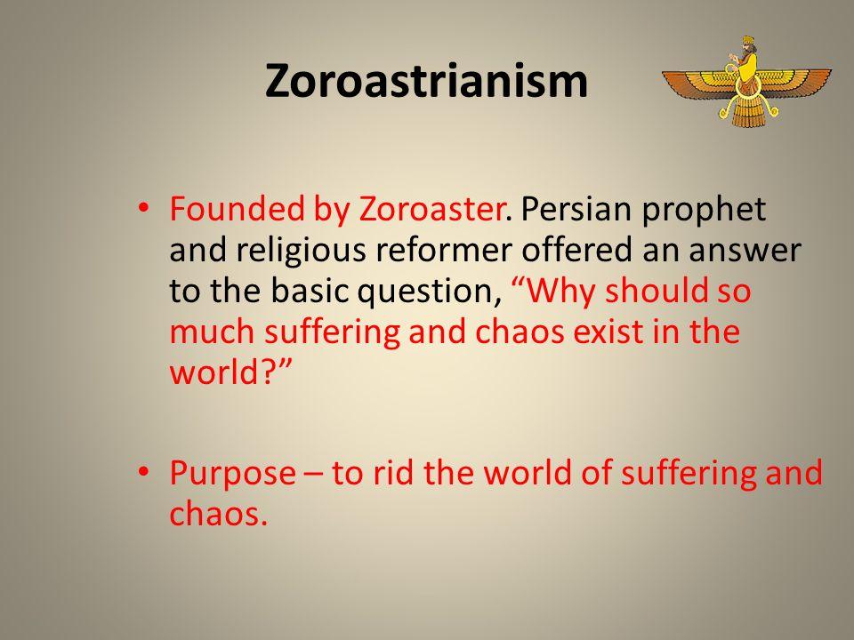what is zoroastrian faith