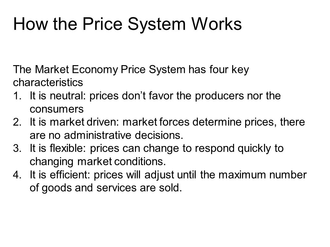 free market supply and demand