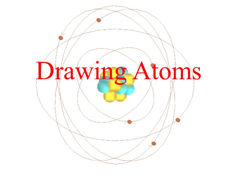 Drawing Atoms Draw A Bohr Model Of An Atom Describe The Meaning Of