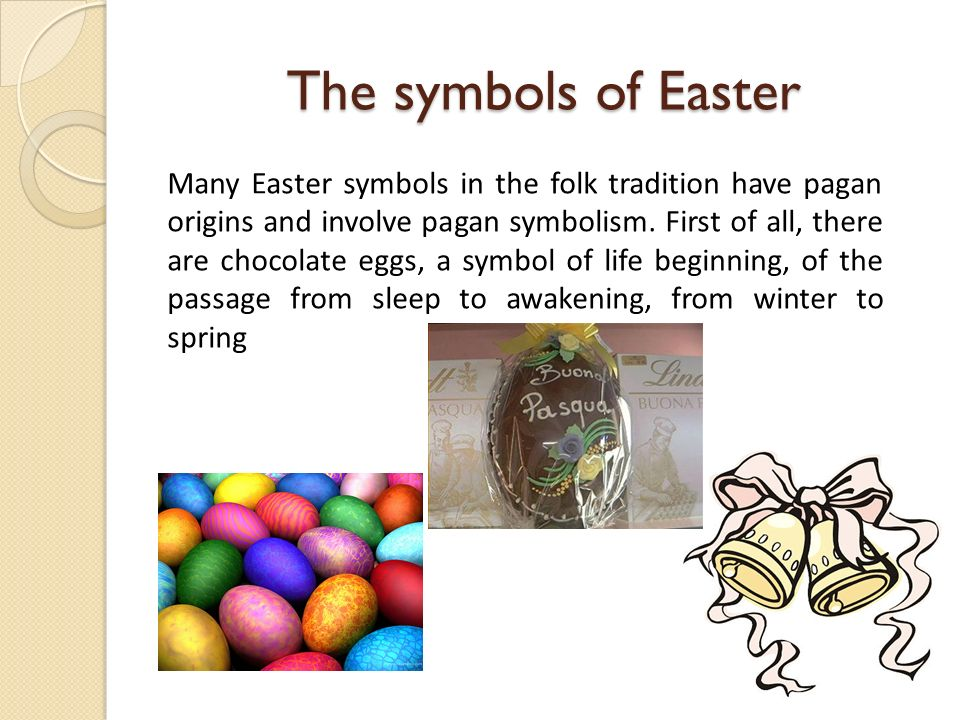 Easter Week In Italy Easter Is The Central Religious Feast In The