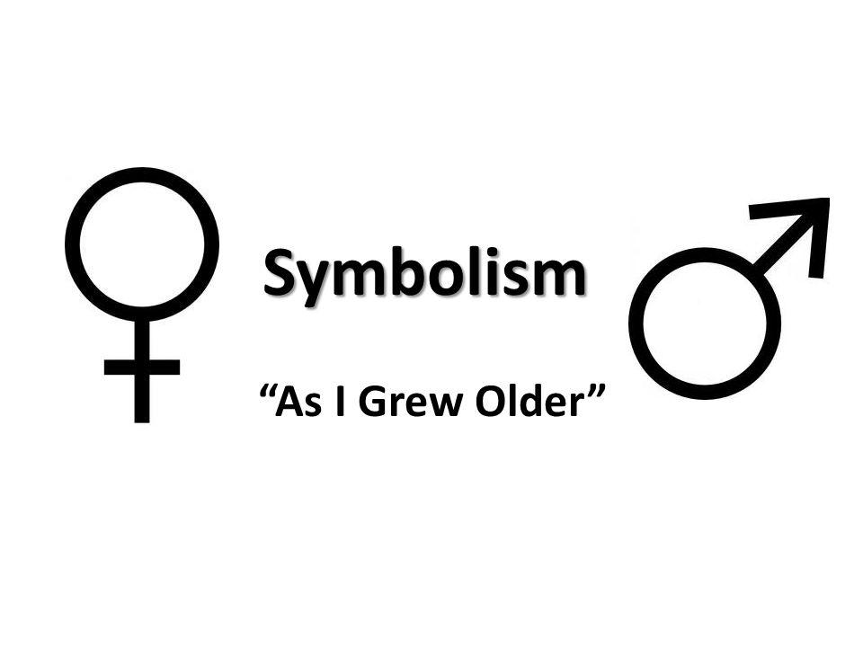 as i grew older theme