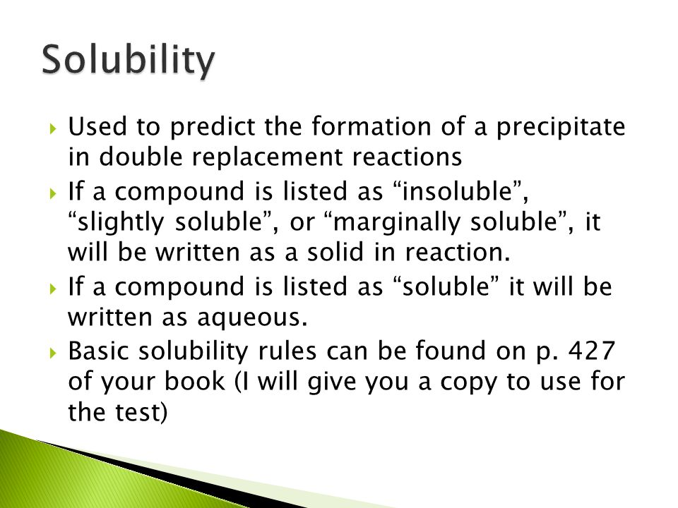 83 Activity Series Solubility Rules Ability Of. Worksheet. Solubility Rules Worksheet Key At Mspartners.co