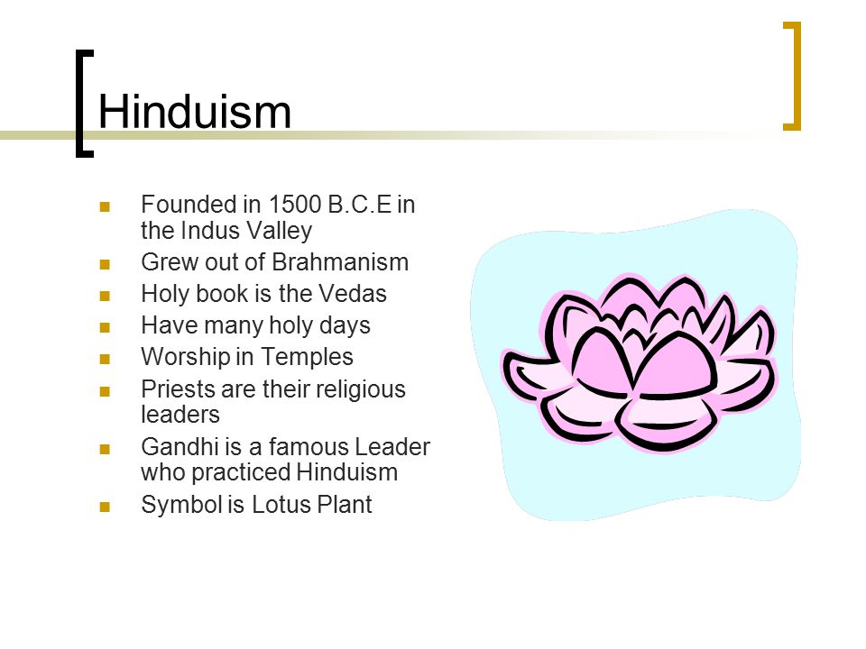 Ancient India Religion Two Major Religions Ancient India Followed
