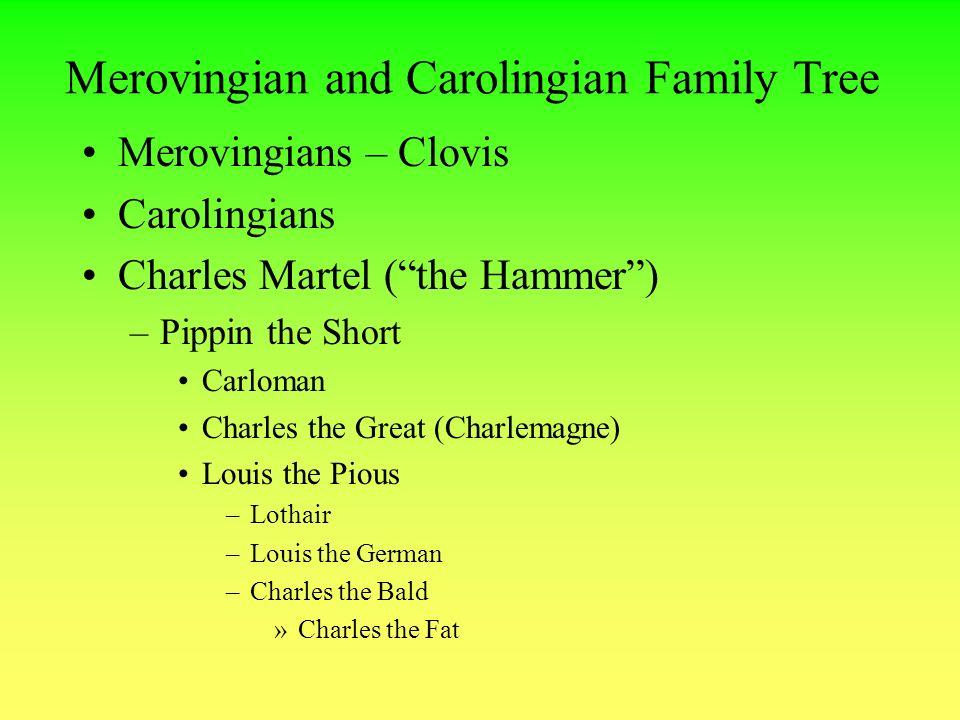 Clovis I Family Tree