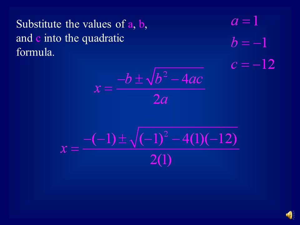 Example 1: Note that the equation is already in the proper form.