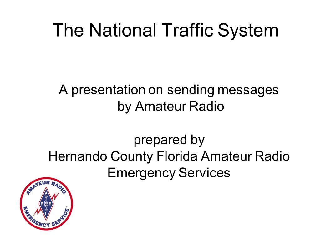 Thanks! hernando amateur radio club your
