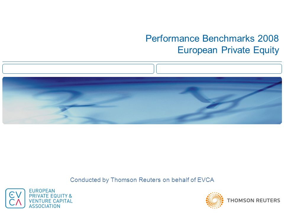 Performance Benchmarks 2008 European Private Equity