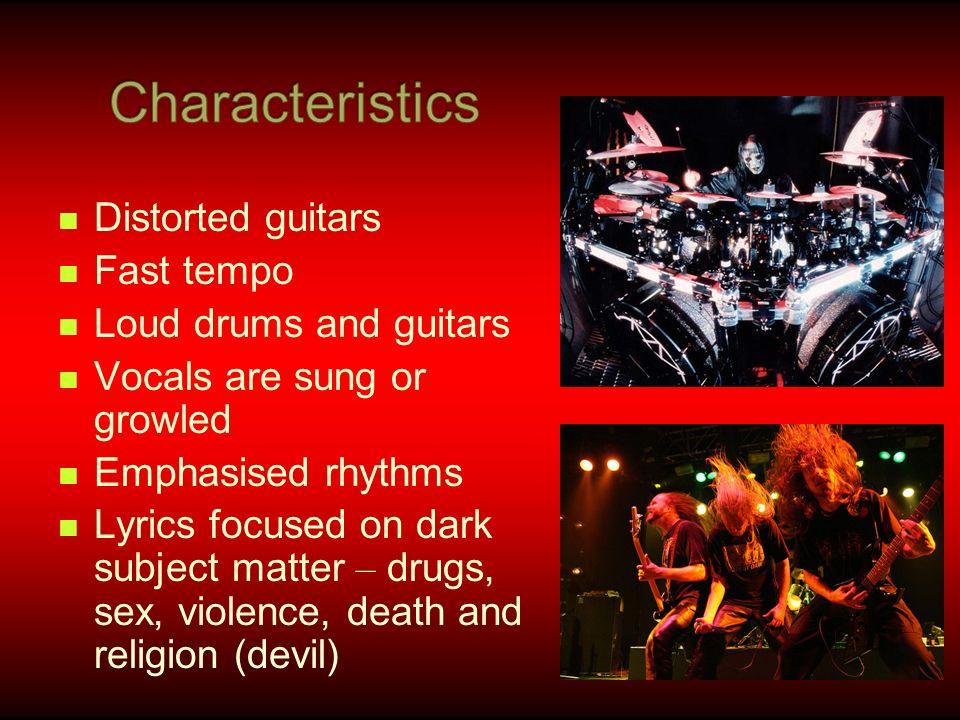 Lyric sex lyrics : Heavy metal music dates back to the end of the 1960 ' s in Britain ...