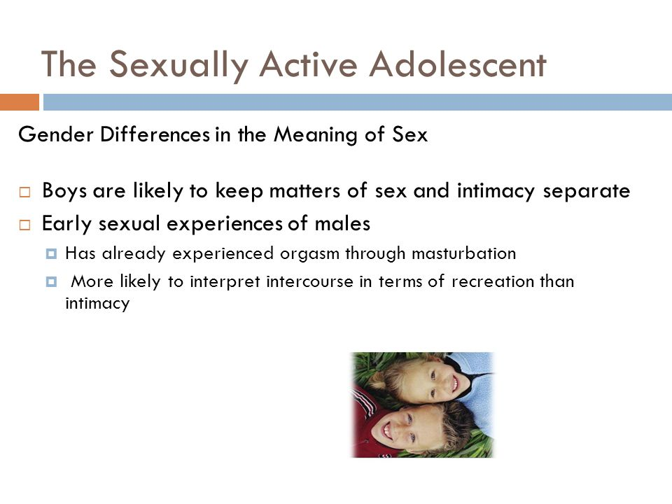 active Meaning of sexually
