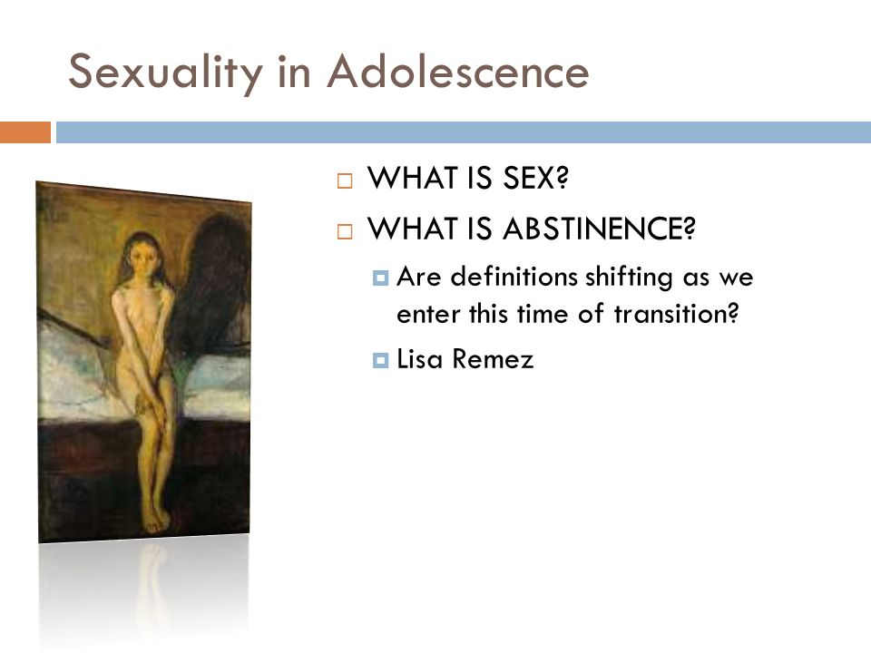 Which Approach To Sexual Abstinence Or Restraint Is The Best