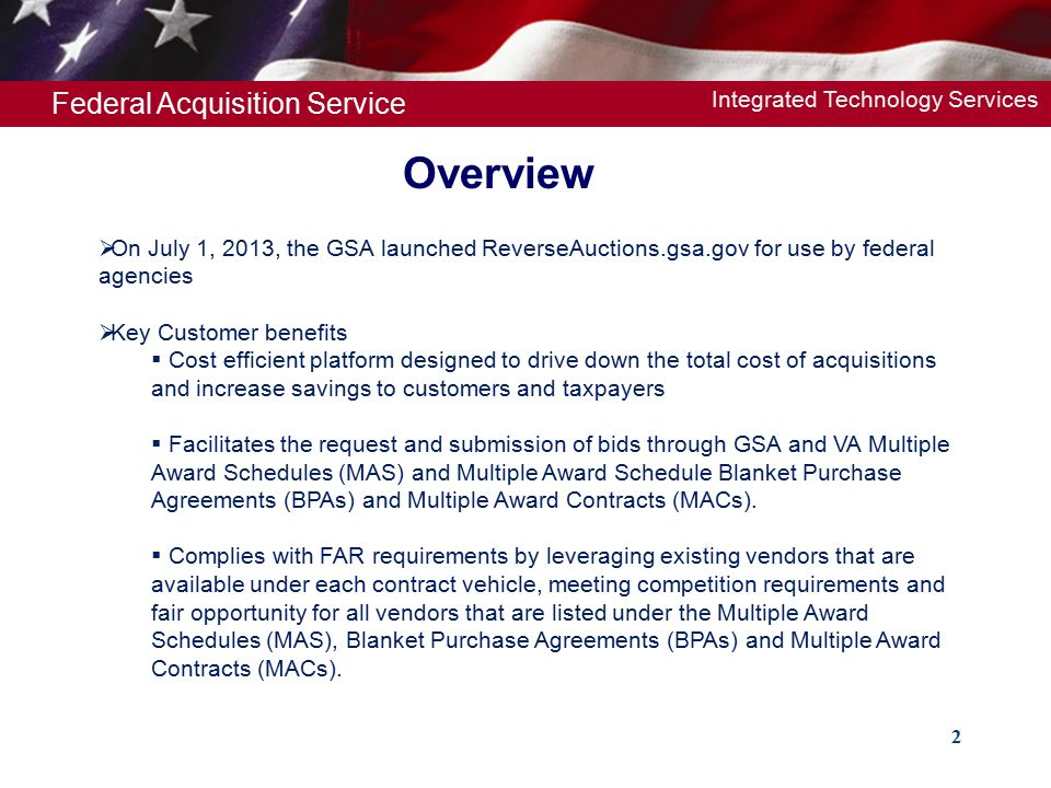 Federal Acquisition Service Us General Services Administration Gsa