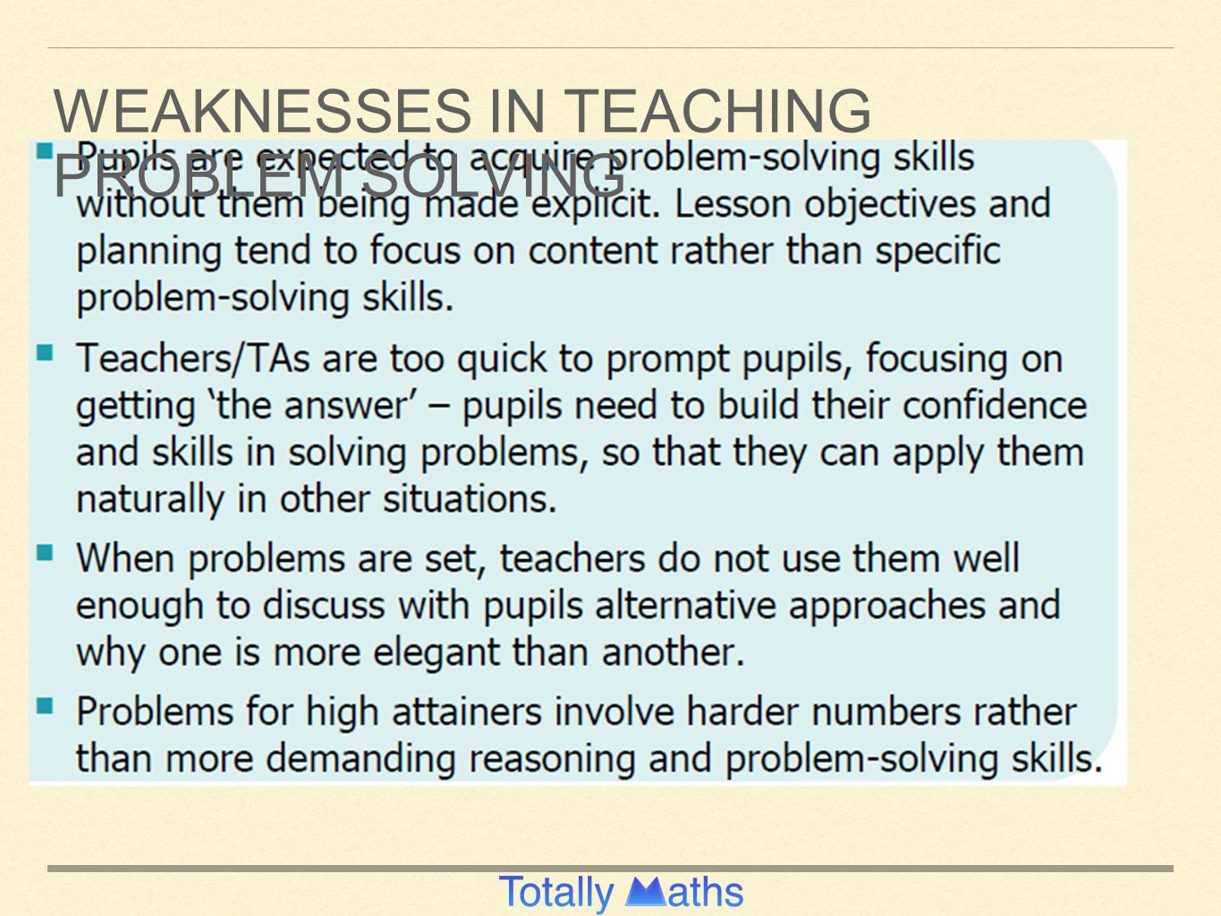 DEVELOPING FLUENCY, PROBLEM SOLVING AND REASONING KS1 Presented by ...