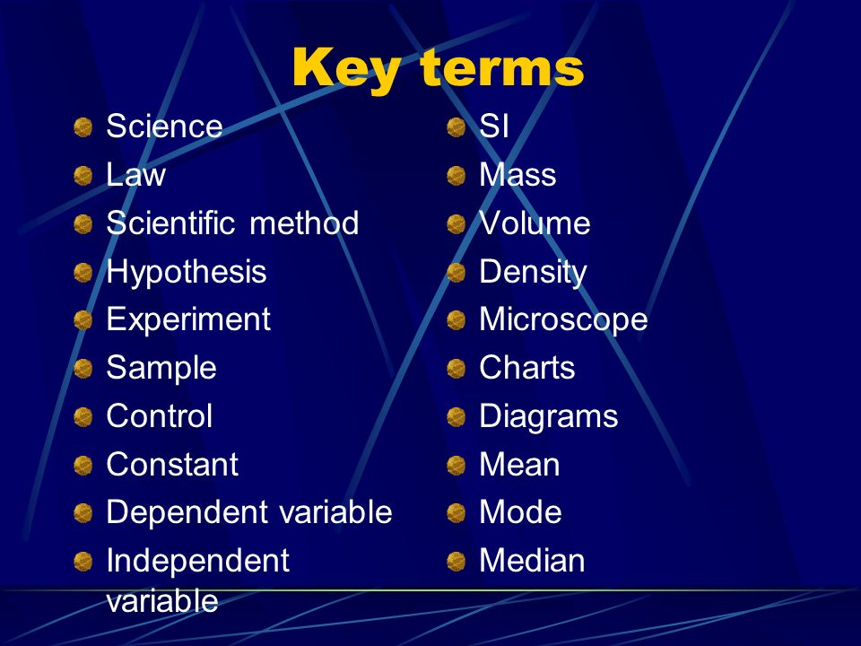 science terms This is a collection of 277 data science key terms, explained with a no-nonsense, concise approach read on to find terminology related to big data, machine learning, natural language processing.