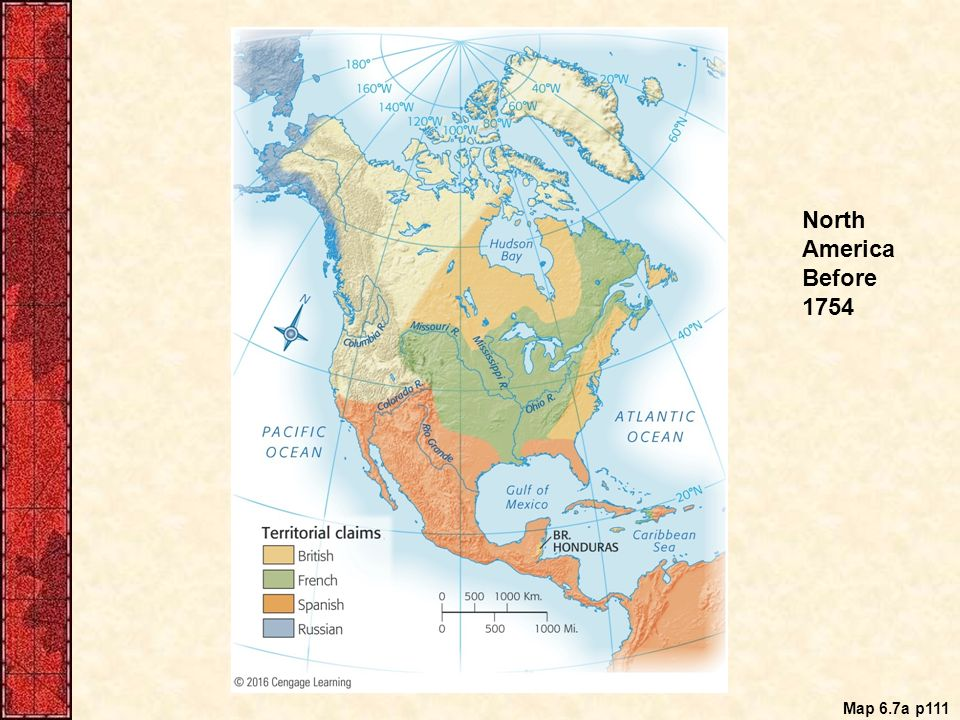 Chapter 6 The Duel For North America 1608 1763 France Finds A