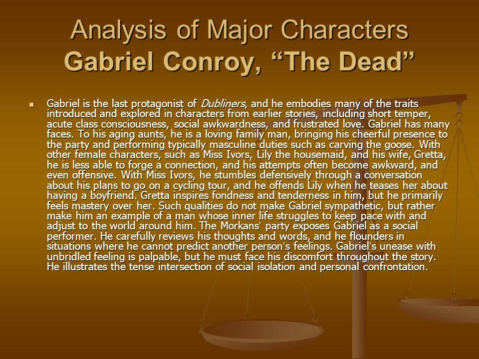 the dead joyce analysis