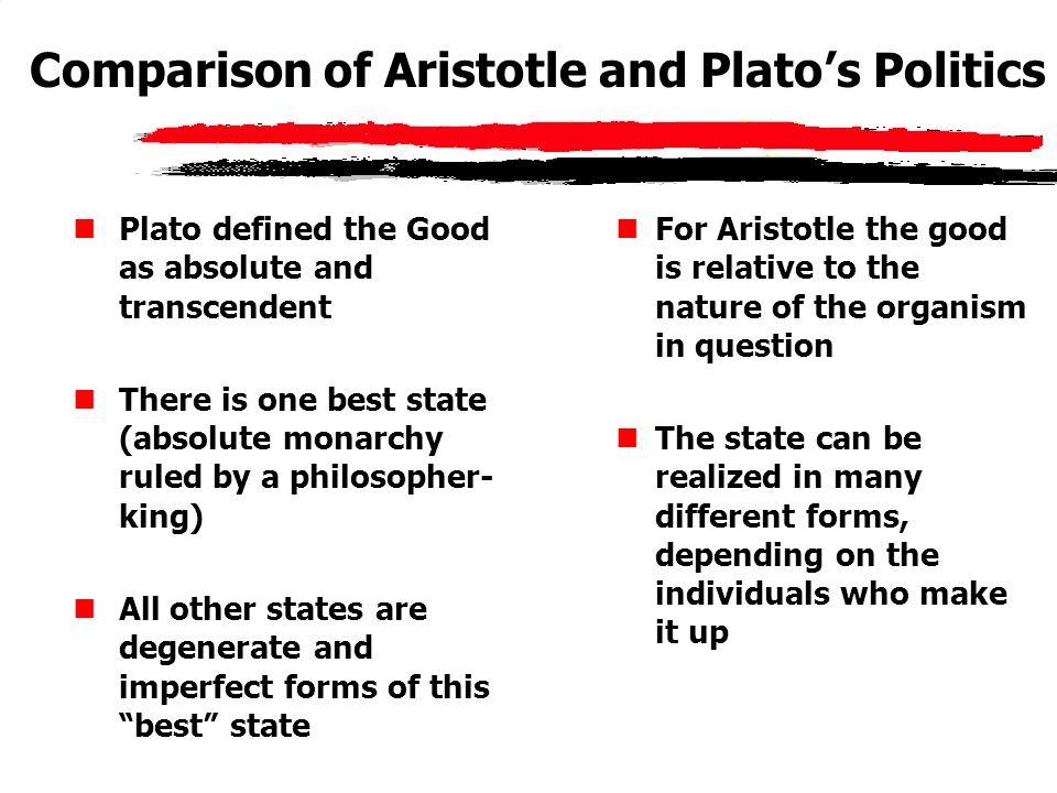 plato and aristotle relationship