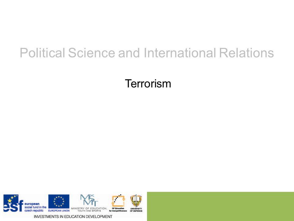 terrorism in international relations