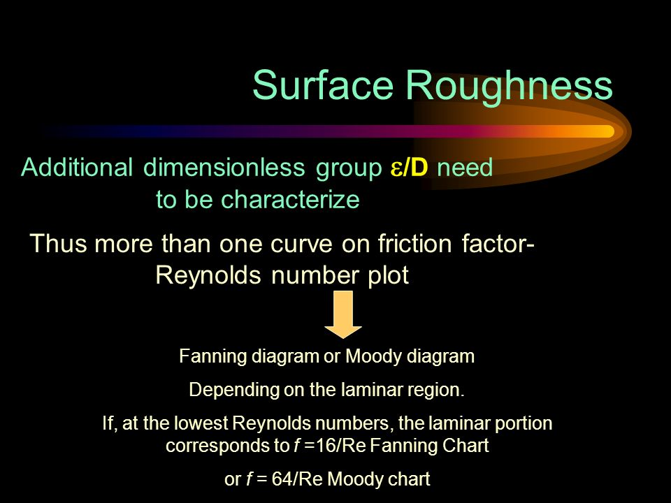 Flow in circular pipes objective to measure the pressure drop in to be characterize thus more than one curve on friction factor reynolds number plot fanning diagram or moody diagram depending on the laminar region ccuart Choice Image