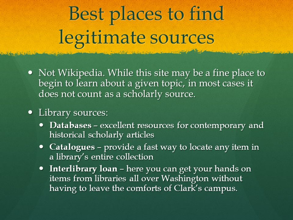 primary sources for academic writing