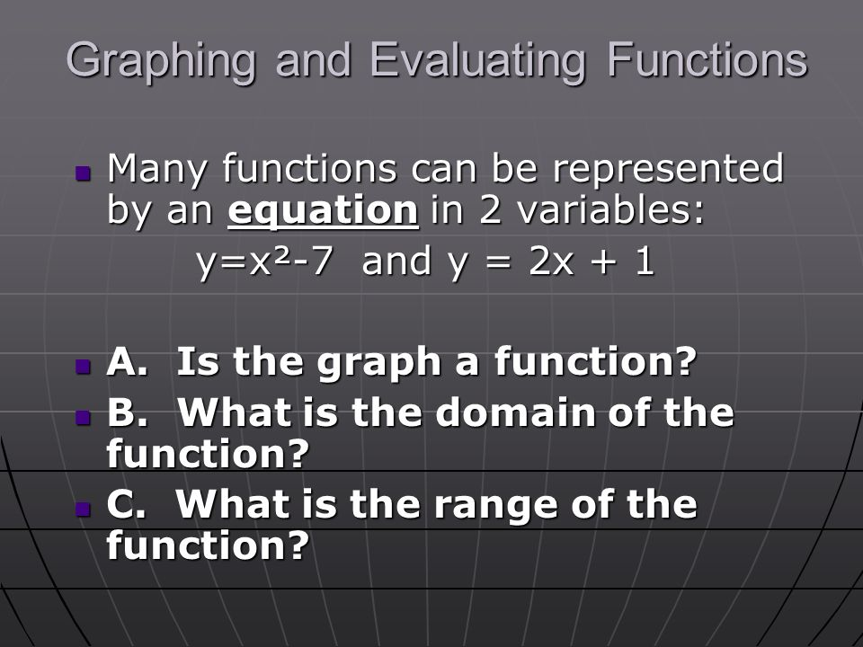 Unit 1: Functions Sec1: Relations, Functions, Domain and