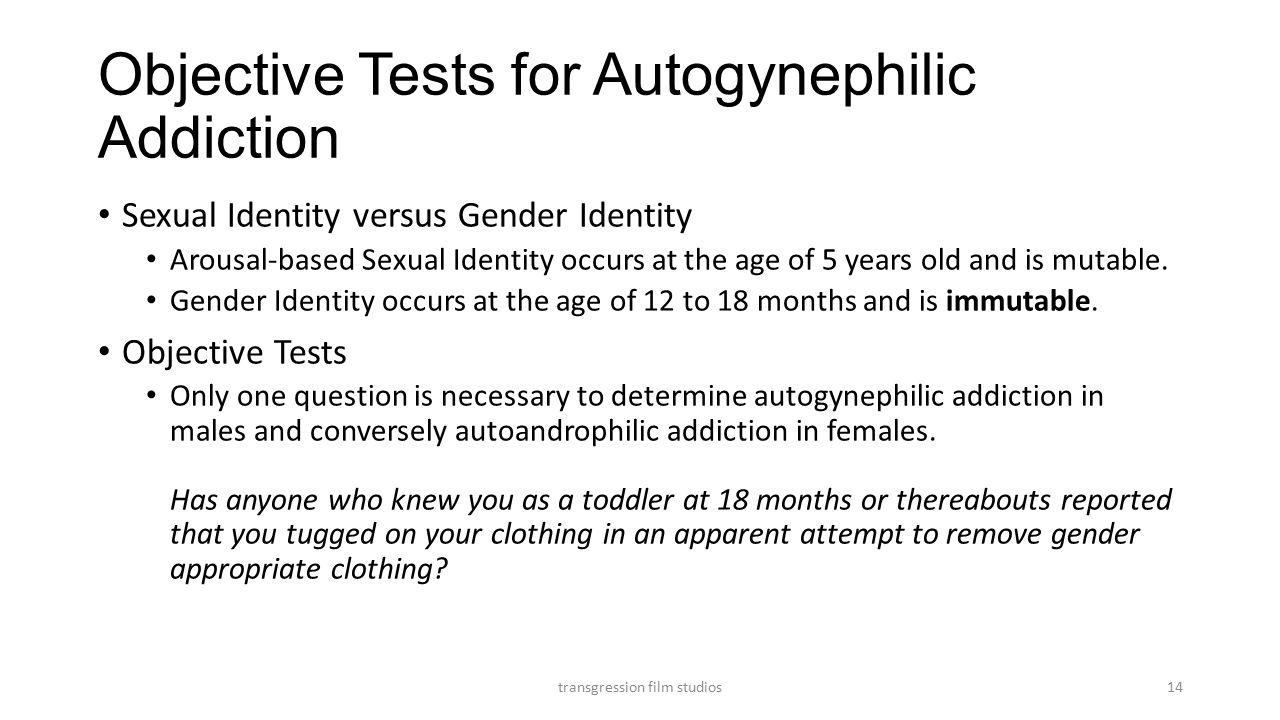 Autogynephilic Addiction Transition Radio Television (New