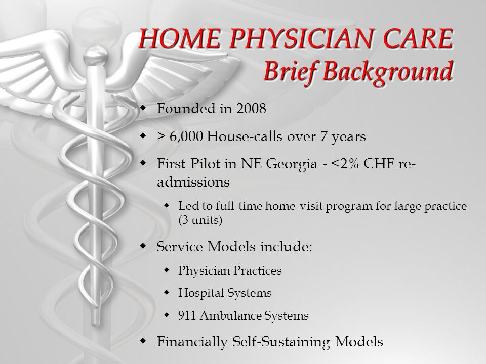 Mobile Integrated Healthcare Program The Opportunities