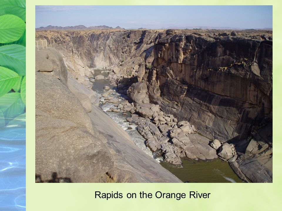 Rapids on the Orange River